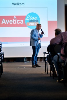Avetica Live Event - dagopening Arnout Vree