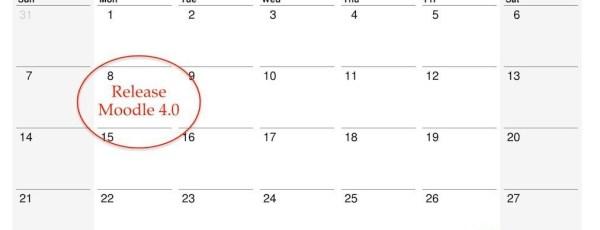 Waarom komt Moodle 4.0 pas in november 2021 uit?