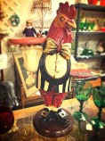 Rooster maid ornament, shopping, Cambria California