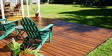 GROUND LEVEL DECKING services sydney