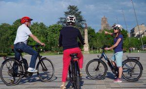Visite de Rodez en vélo électrique