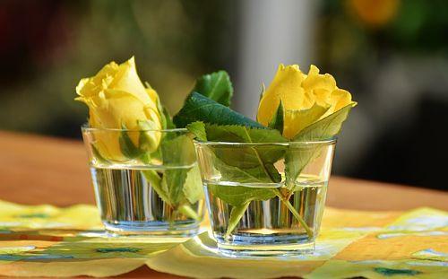 троянда з букета