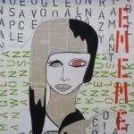 Schülerarbeit, entstanden in Bildender Kunst
