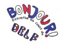 Kleines selbstgemaltes Logo der DELF-AG aus dem Jahr 2015