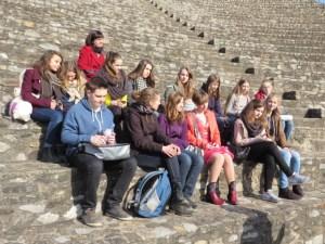 Im Römischen Theater von Lyon