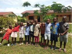 "Kinder aus dem des Waisenhaus ""Upendo home"""