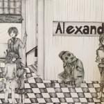 """Schülerarbeit zum Projekt """"Otto Dix: Der Streichholzhändler"""""""