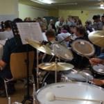 as Orchester aus der Sicht der Schlagzeugerin