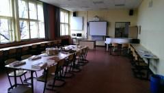 Blick in einen der beiden Fachräume für den Musikunterricht an der AvH