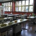 Blick in einen Fachraum Biologie der AvH
