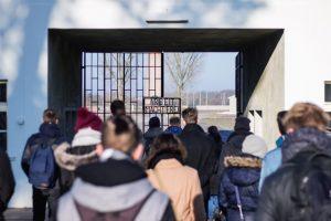 Eingang zur Gedenkstätte Sachsenhausen
