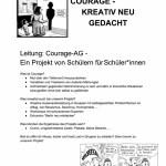 Courage - kreativ neu gedacht; Nr. 1 -30 Plätze