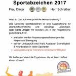 Das deutsche Sportabzeichen 2017, Nr. 12 - 30 Plätze