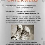 """Unterwegs (Nur für DLK und WPU_Kurs """"Theater""""!!!), Nr. 23 - 25 Plätze"""