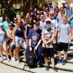 Die Teilnehmer der Malta-Exkursion des Faches englisch 2017