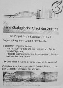Plakat Projekt 3 in 2018