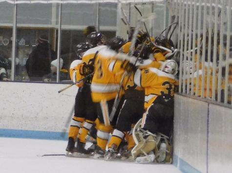 Boys Hockey Overcomes Deficit, Wins in Overtime Thriller