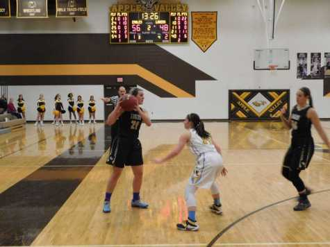Eagle Girls' Team Effort Overwhelms Prior Lake