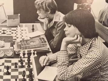 Chess Club in 1976