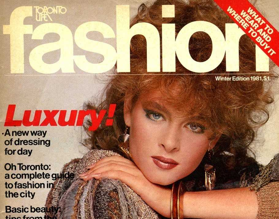 Cover of Fashion's 1981 edition.