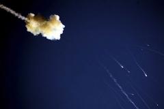 Rocket shot down