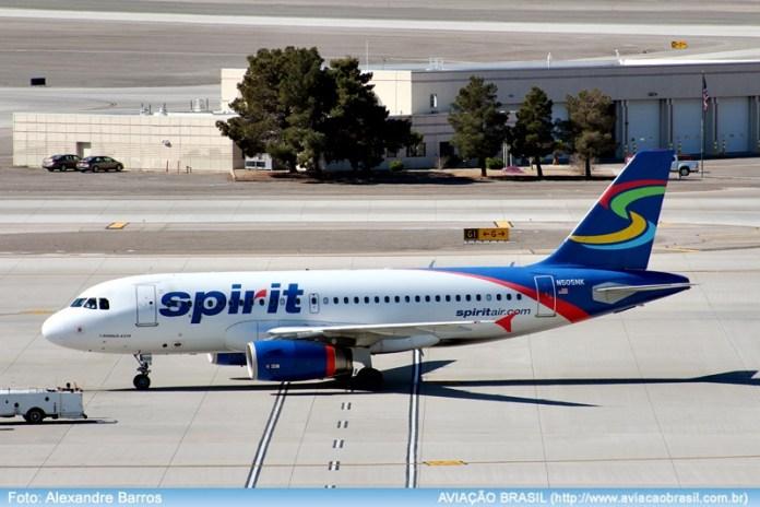 , Spirit Airlines (USA), Portal Aviação Brasil