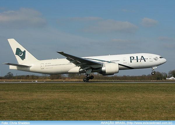 , Pakistan International Airlines (Paquistão), Portal Aviação Brasil