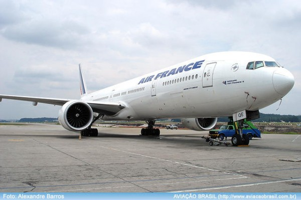 , Air France com A340-300 em Brasília, Portal Aviação Brasil