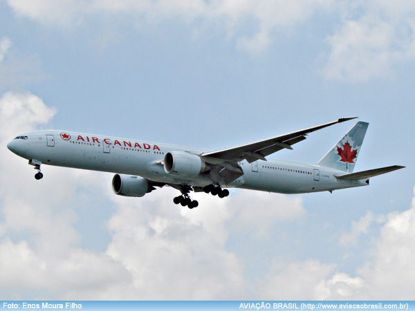 , A volta do Boeing 777-300ER da Air Canada, Portal Aviação Brasil
