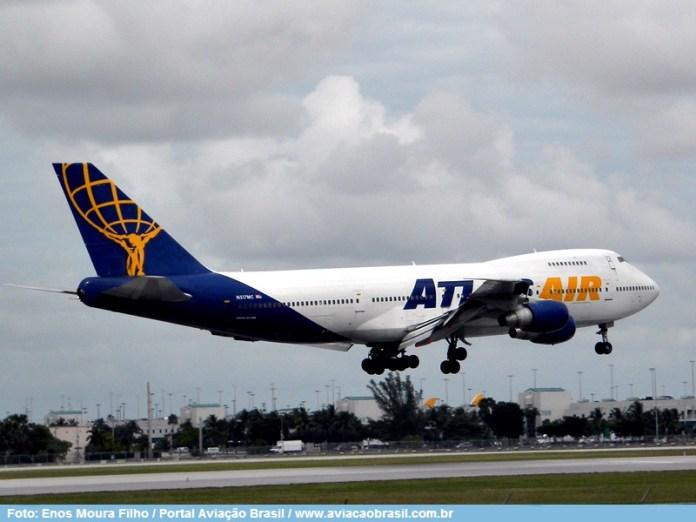 Atlas Air, Atlas Air (USA), Portal Aviação Brasil