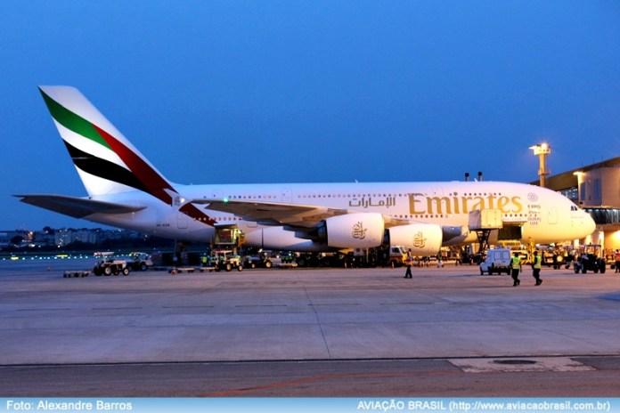 Emirates, Emirates Airlines (Emirados Arabes Unidos), Portal Aviação Brasil