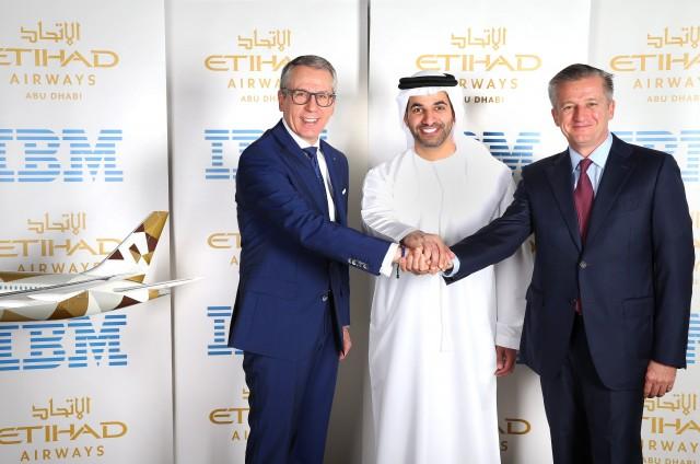 Etihad e IBM fecham acordo de US$ 700 milhões, Etihad e IBM fecham acordo de US$ 700 milhões, Portal Aviação Brasil
