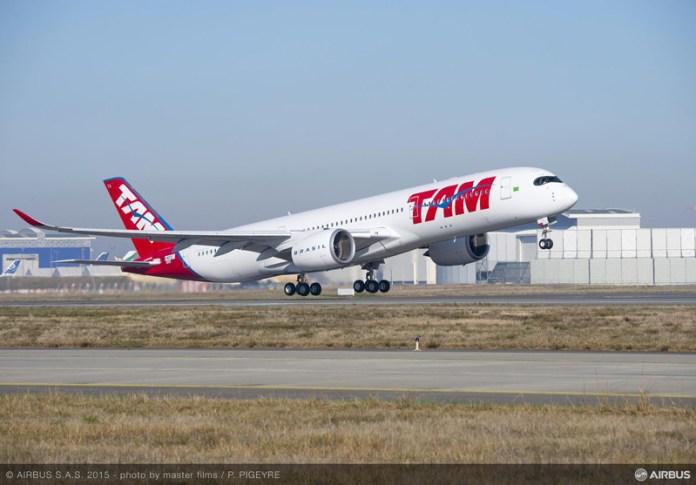 Airbus A350 da TAM chega amanhã!!, Airbus A350 da TAM chega amanhã!!, Portal Aviação Brasil
