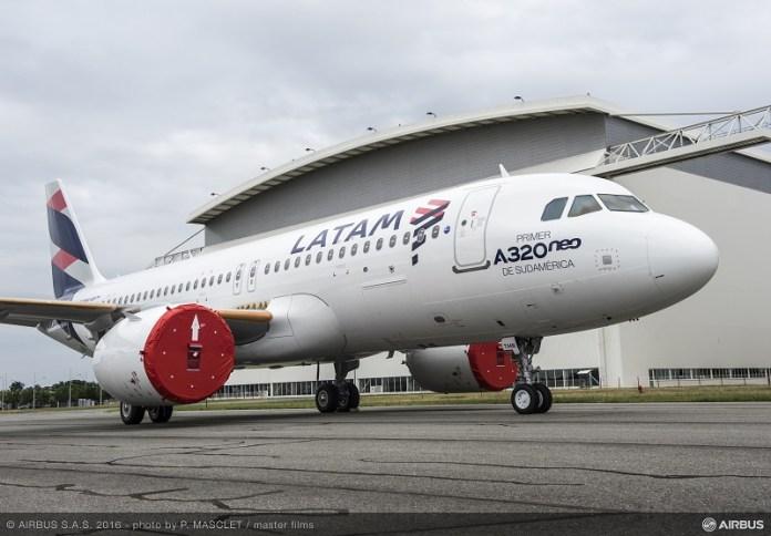Onde irá operar o primeiro Airbus A320Neo da Latam?, Onde irá operar o primeiro Airbus A320Neo da Latam?, Portal Aviação Brasil