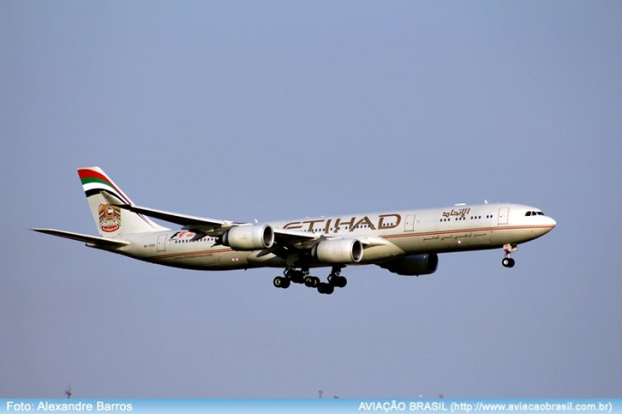 , Etihad Airways suspenderá voos no Brasil, Portal Aviação Brasil