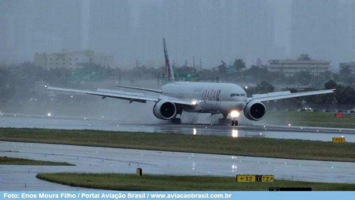 , Qatar Airways Cargo em Guarulhos, Portal Aviação Brasil