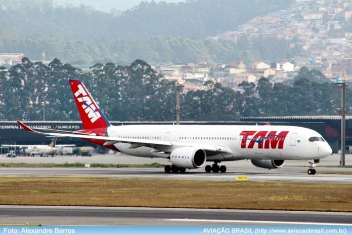 , Latam Airlines Brasil iniciará Paris com A350 no final de janeiro/17, Portal Aviação Brasil