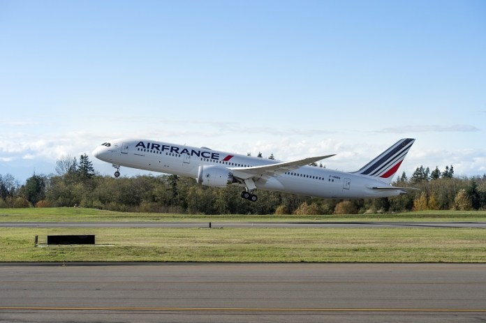 , Air France recebe seu primeiro Boeing 787-900, Portal Aviação Brasil