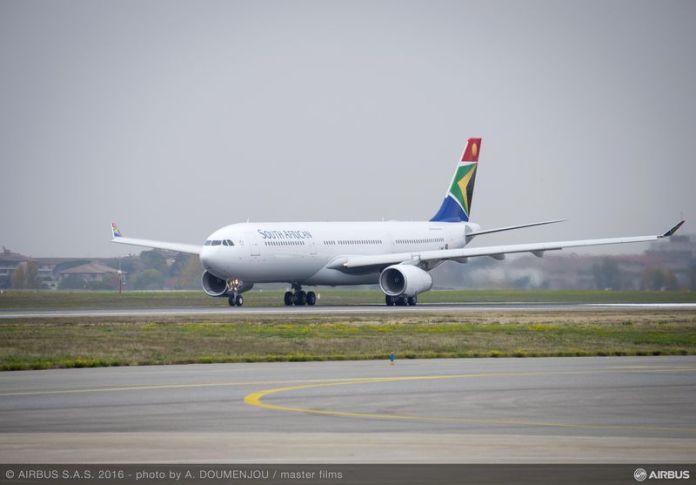 South African Airways recebe seu primeiro Airbus A330-300