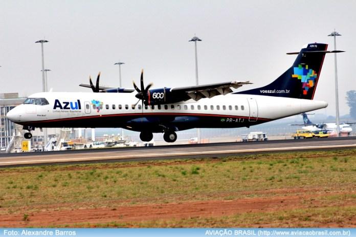 , Azul fará Recife – Mossoró com ATR 72-600, Portal Aviação Brasil