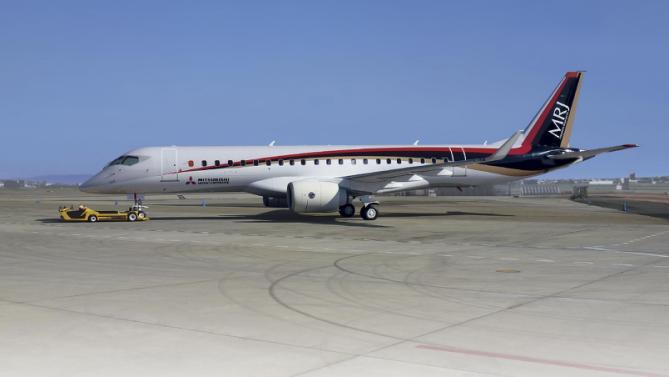 , Mitsubishi MRJ90, Portal Aviação Brasil
