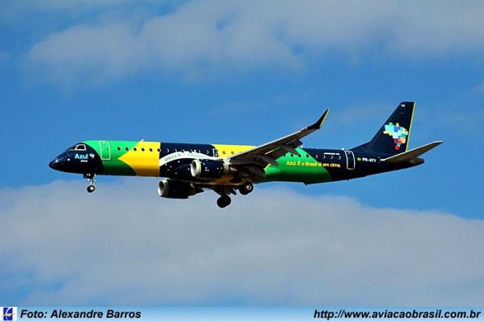 Azul; Recife;, Azul amplia hub de Recife, Portal Aviação Brasil