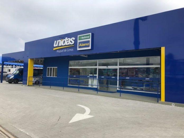 Unidas; Galeão;, Unidas inaugura nova loja no Galeão (RJ), Portal Aviação Brasil