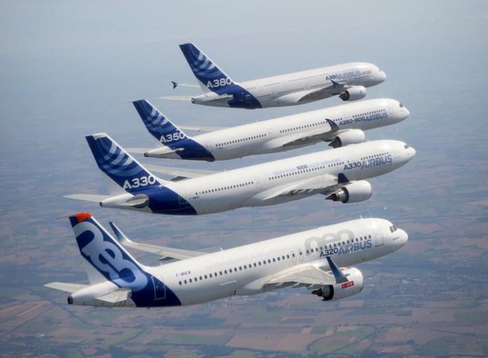 Airbus;, Airbus entrega 718 aeronaves em 2017, Portal Aviação Brasil