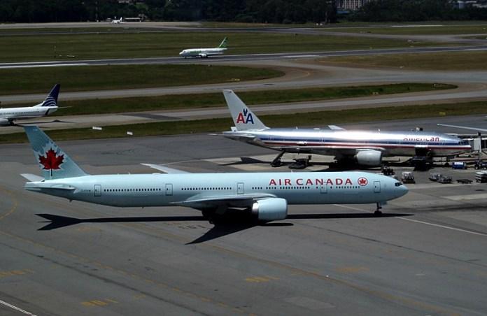 Air Canada, Air Canada começa a oferecer conexão via satélite em seus voos internacionais, Portal Aviação Brasil