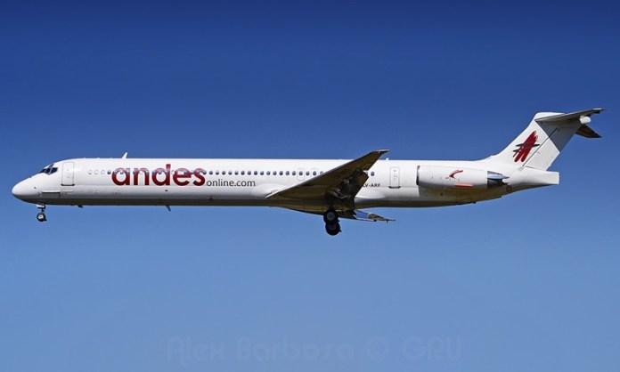 Andes, Andes Lineas Aereas (Argentina), Portal Aviação Brasil
