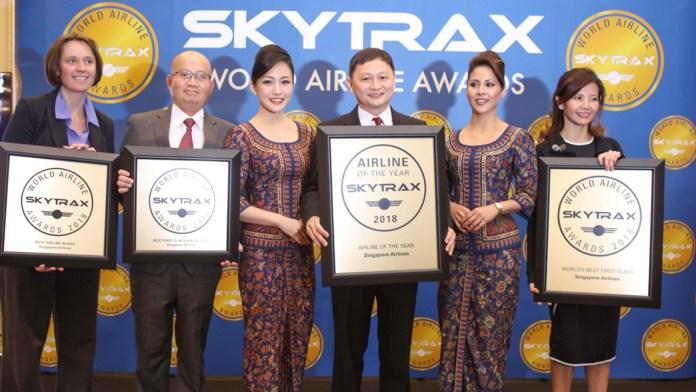 Aviação Brasil lista as vencedoras do World Airlines Award 2018 que operam no Brasil