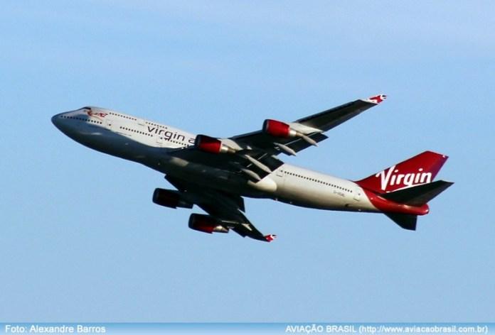 Virgin Atlantic, Virgin Atlantic (Inglaterra), Portal Aviação Brasil