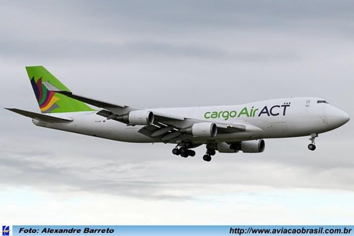 AirACT, AirACT está operando voo cargueiro regular da Turkish em Viracopos, Portal Aviação Brasil