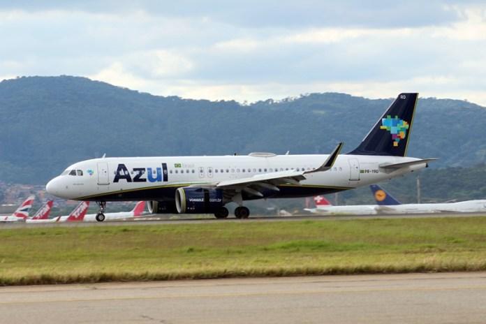 Azul, Azul terá dois mil voos extras durante a alta temporada de inverno, Portal Aviação Brasil